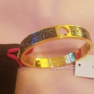 Hole punch kate spade hold toned multi glitter